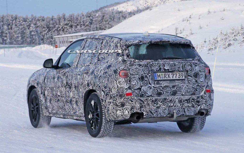 BMW teste son nouveau BMW X3 : des photos le prouvent 4