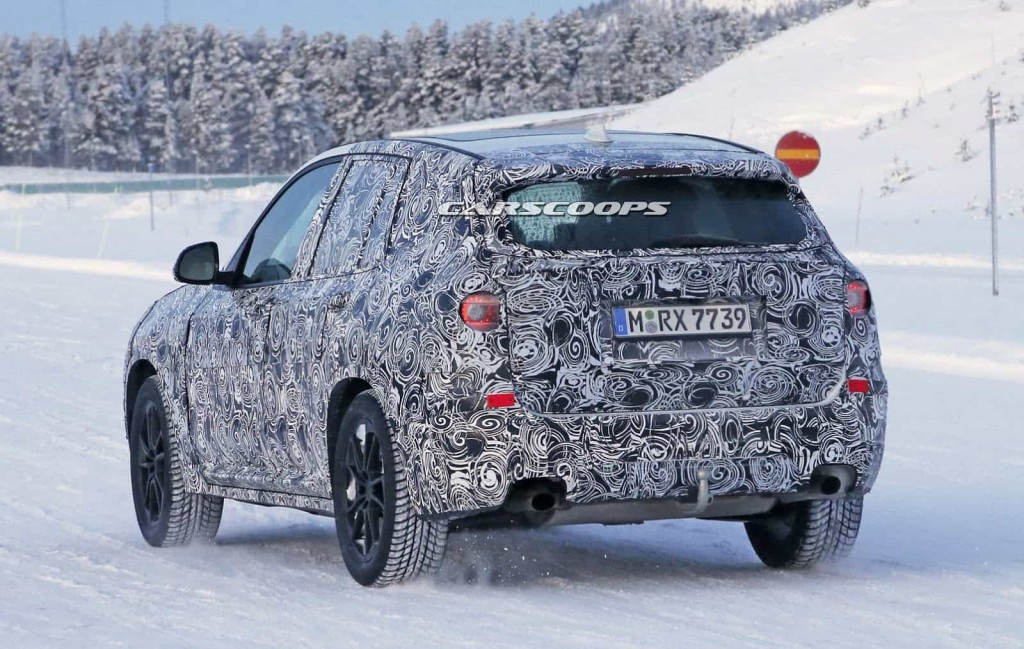 BMW teste son nouveau BMW X3 : des photos le prouvent 5