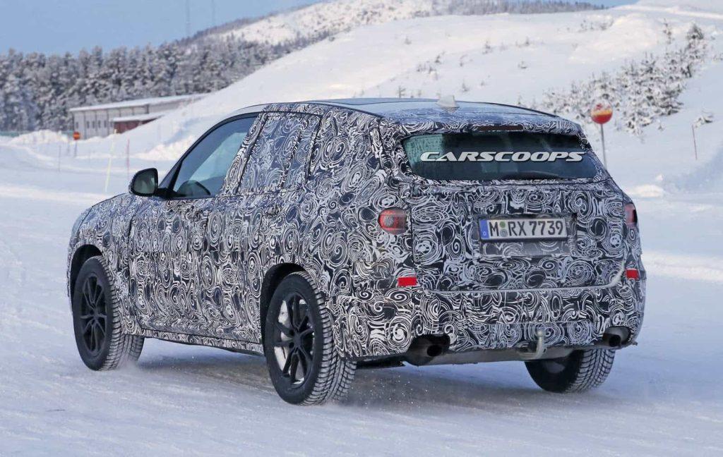 BMW teste son nouveau BMW X3 : des photos le prouvent 6