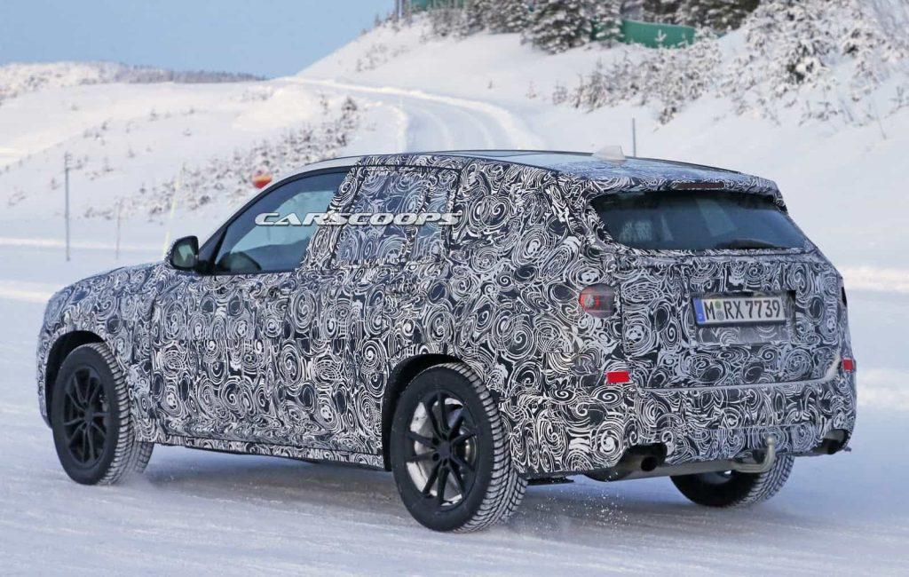 BMW teste son nouveau BMW X3 : des photos le prouvent 7