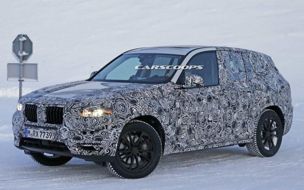 BMW teste son nouveau BMW X3 : des photos le prouvent 9
