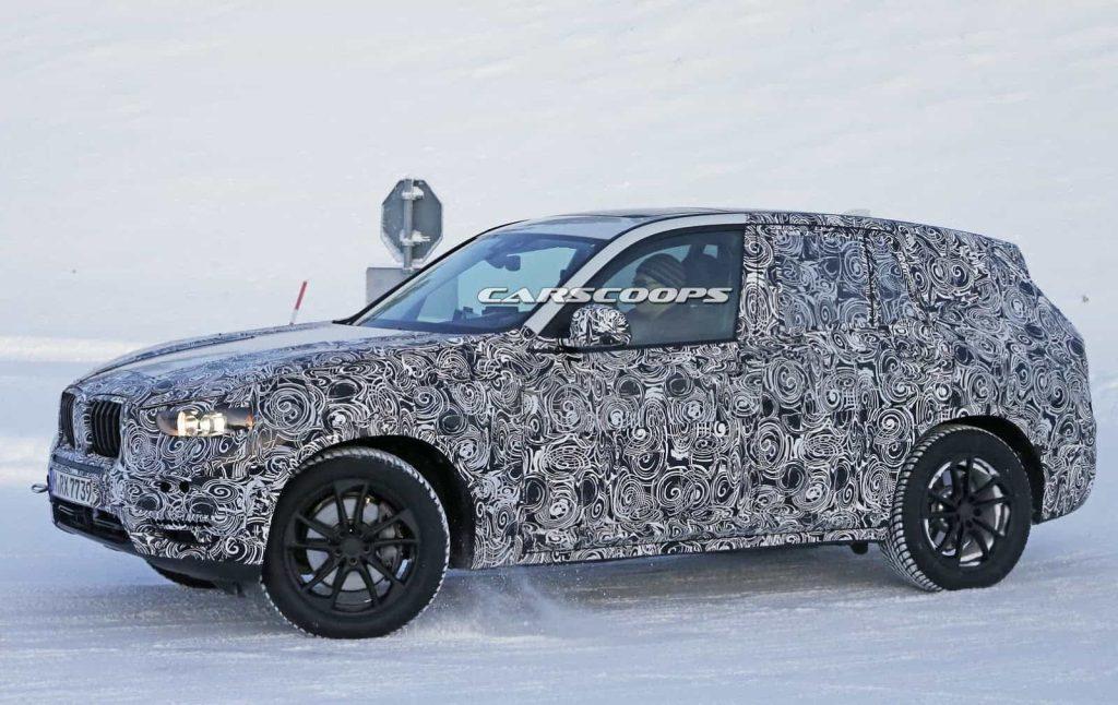 BMW teste son nouveau BMW X3 : des photos le prouvent 10