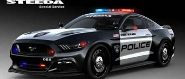 Ford Mustang : jusqu'à 777 chevaux pour la police américaine