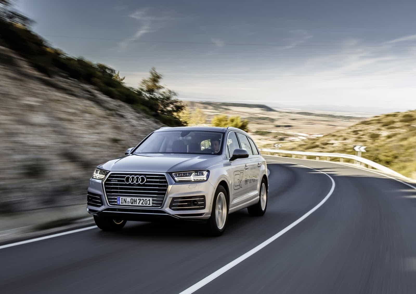 Il faut un porte-monnaie bien garni pour commander l'Audi Q7 hybride