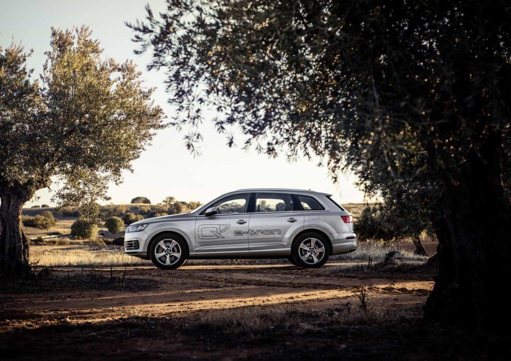 Il faut un porte-monnaie bien garni pour commander l'Audi Q7 hybride 4