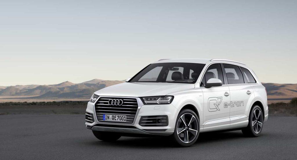 Il faut un porte-monnaie bien garni pour commander l'Audi Q7 hybride 10