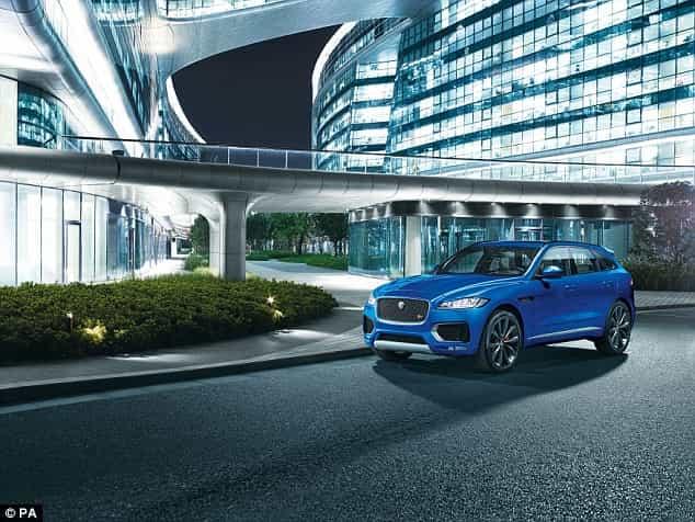 Jaguar F-Pace se présente en force en Belgique 3