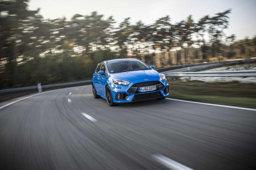 Sortie des chaînes de production de la première Ford Focus RS 2