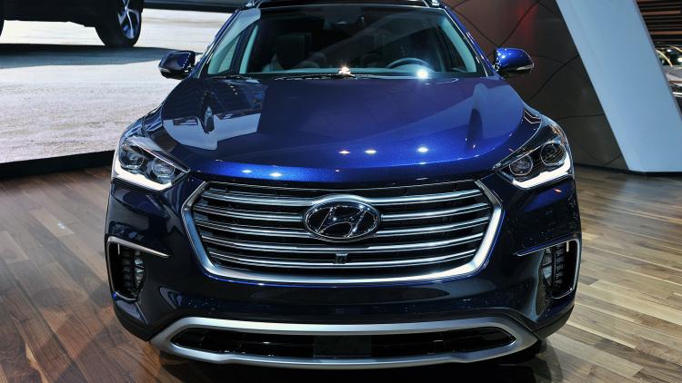 A quand la commercialisation du Hyundai Santa Fe Sport en dehors des Etats-Unis ? 2