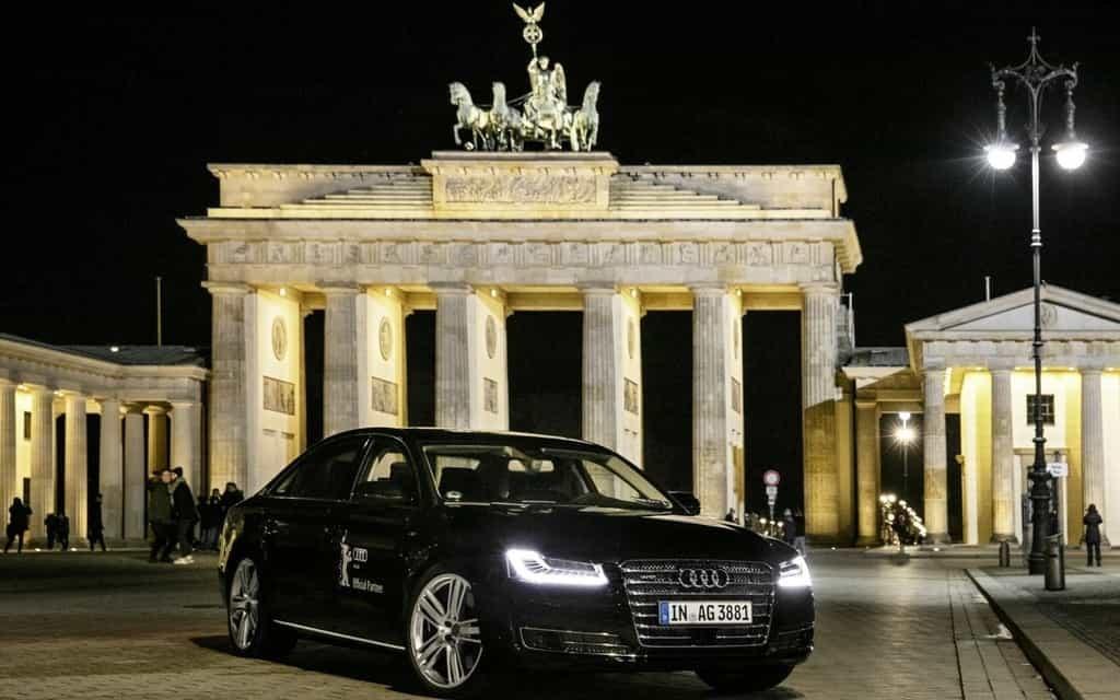 Audi rend la luxueuse limousine A8 L autonome 2