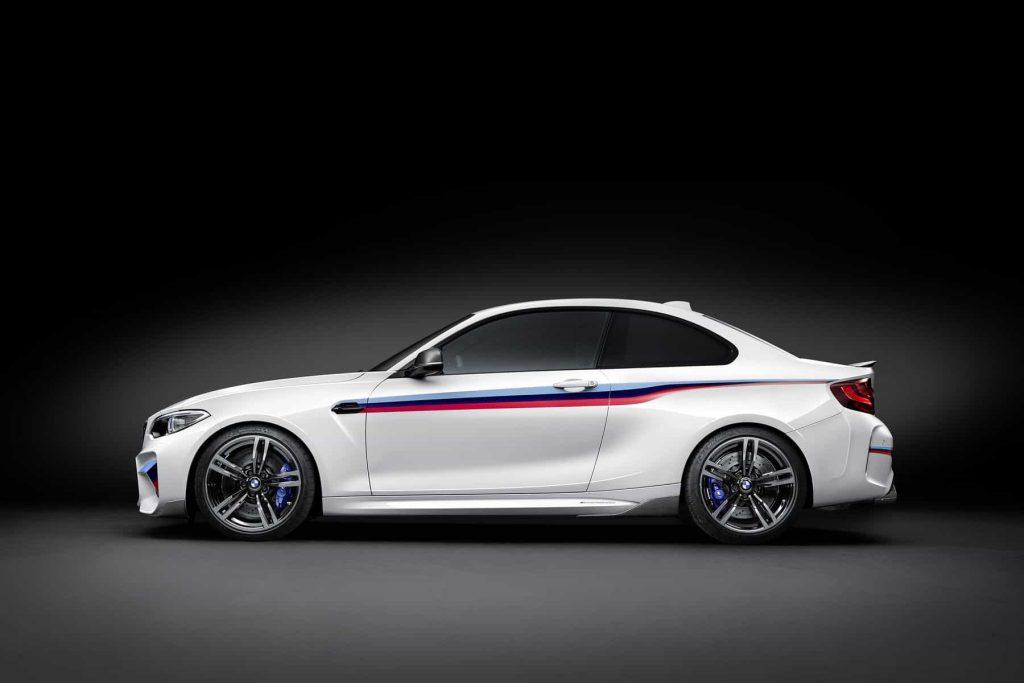 Des éléments en fibre de carbone pour la BMW M2 grâce au pack M Performance 3