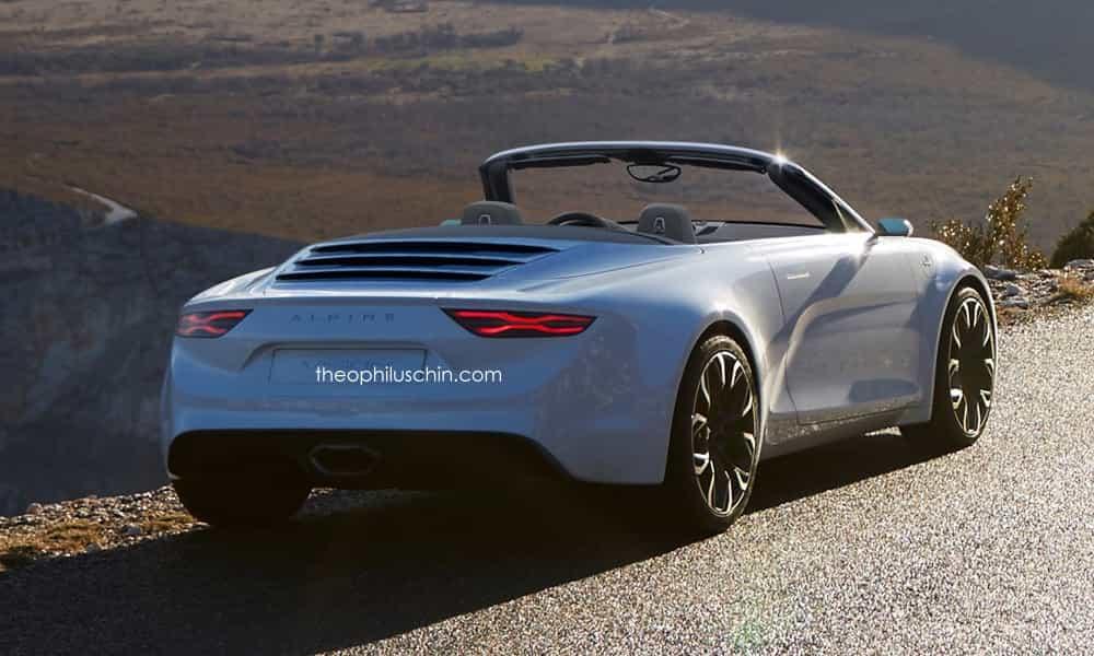 Et si l'Alpine Vision Concept était un petit roadster ?