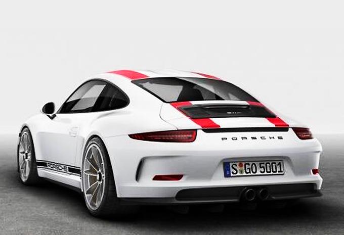 La Porsche 911 R se dévoile avant l'heure sur le web 3