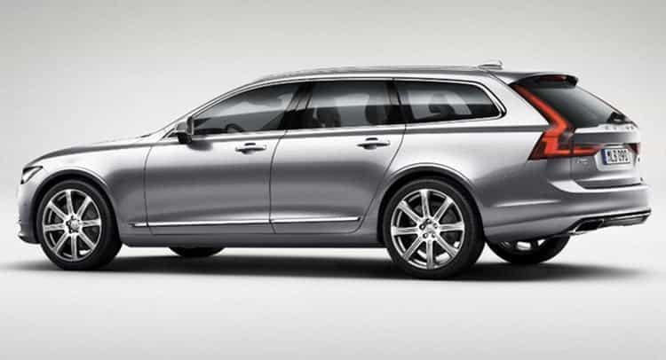 Le nouveau break V90 confirme que Volvo est un spécialiste des breaks 6