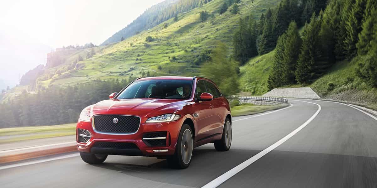 Le SUV F-PACE de Jaguar s'affiche au Canada