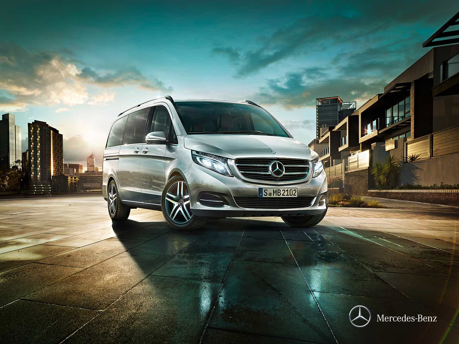 Mercedes Classe V Exclusive : une finition haut de gamme pour le grand véhicule familial de Mercedes