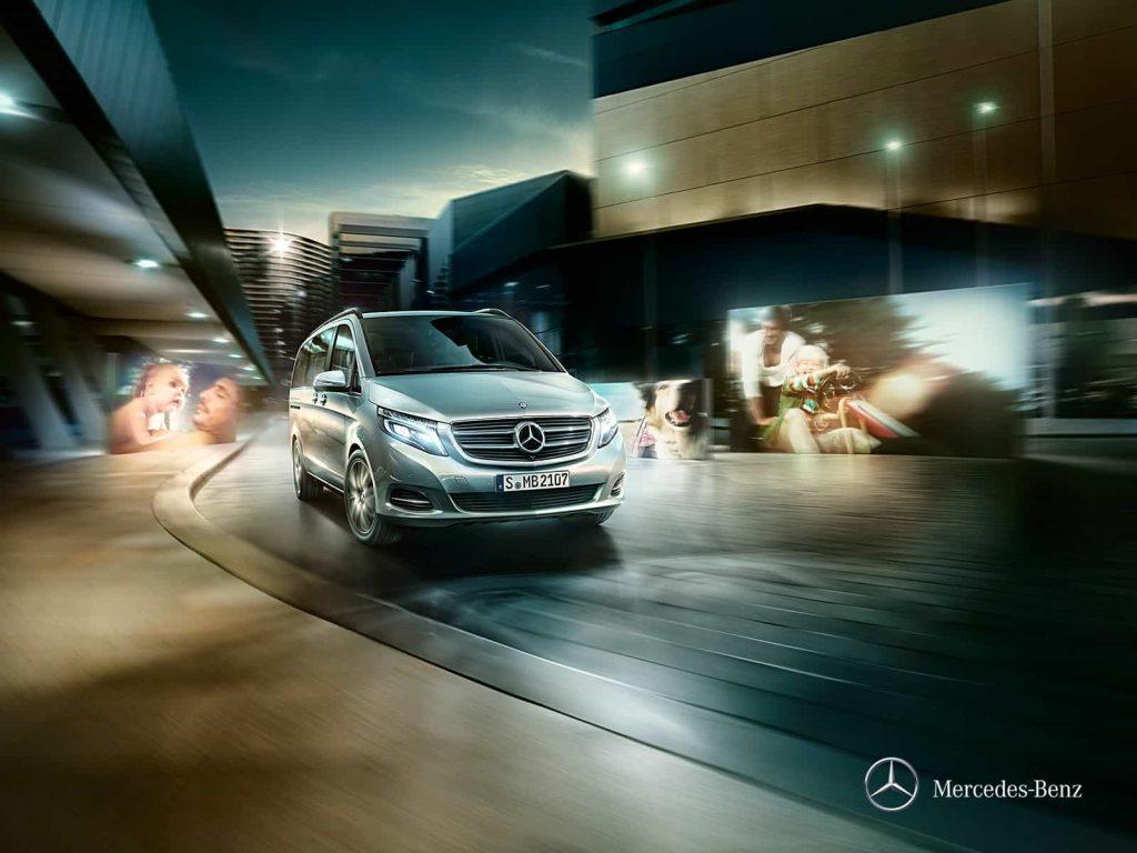 Mercedes Classe V Exclusive : une finition haut de gamme pour le grand véhicule familial de Mercedes 7