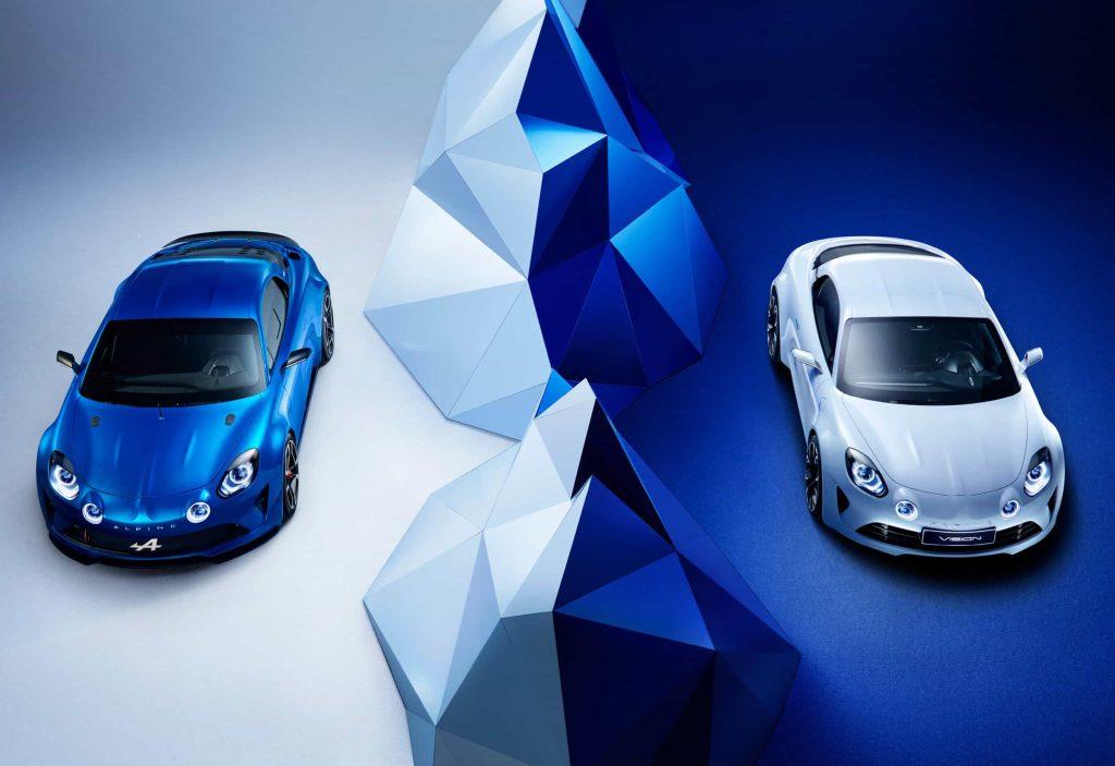 Un pas de plus vers la série avec l'Alpine Vision Concept 2