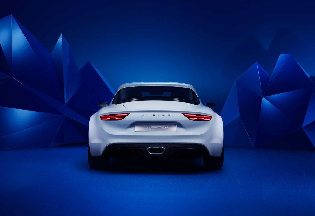 Un pas de plus vers la série avec l'Alpine Vision Concept 4