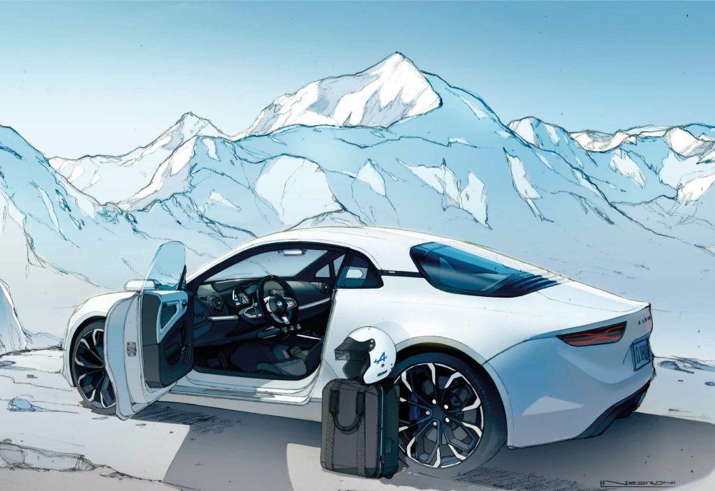 Un pas de plus vers la série avec l'Alpine Vision Concept 26