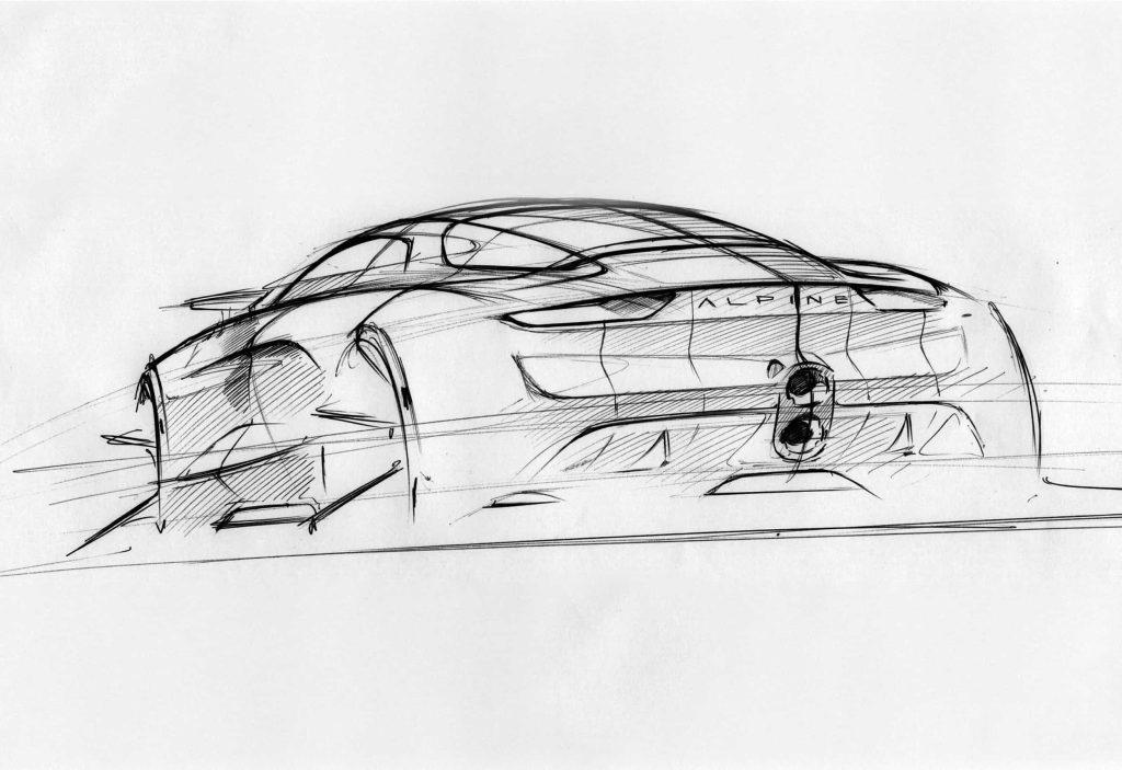 Un pas de plus vers la série avec l'Alpine Vision Concept 28