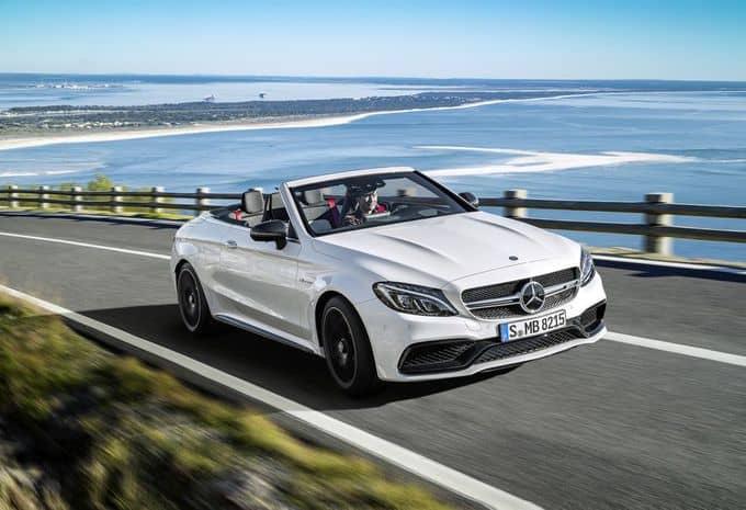 476 ch pour la Mercedes-AMG C 63 Cabriolet 2
