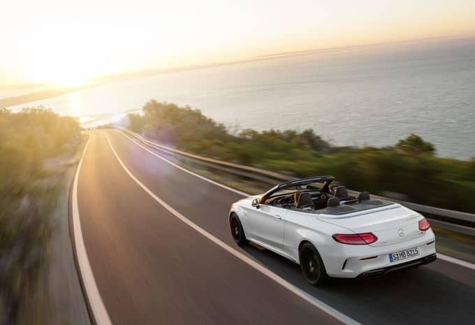 476 ch pour la Mercedes-AMG C 63 Cabriolet 3