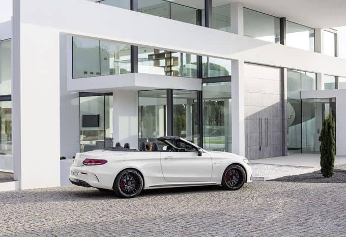 476 ch pour la Mercedes-AMG C 63 Cabriolet 6