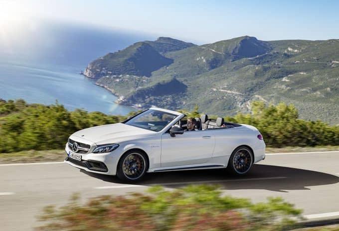 476 ch pour la Mercedes-AMG C 63 Cabriolet 7