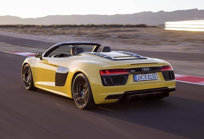 Audi présente une R8 Spyder qui rivalise avec le coupé R8 4
