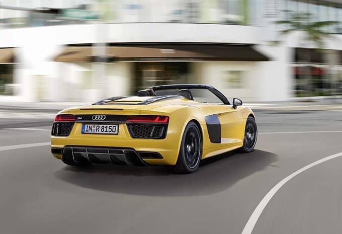 Audi présente une R8 Spyder qui rivalise avec le coupé R8 6