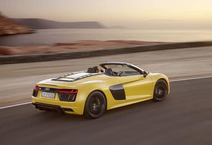 Audi présente une R8 Spyder qui rivalise avec le coupé R8 8