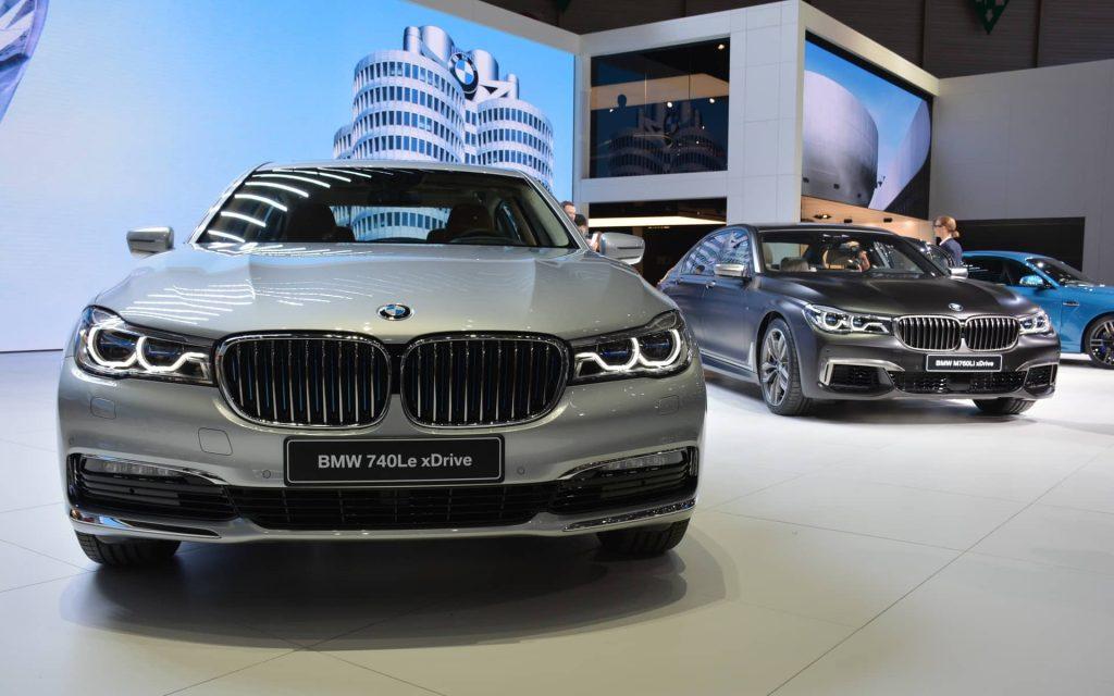 Avec la 740 Le xDrive, BMW recherche l'économie maximale 2