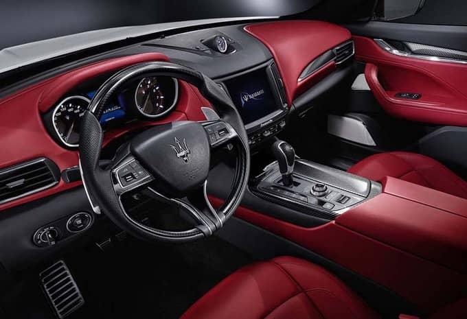 Avec le Levante, Maserati s'attaque au marché des SUV 4