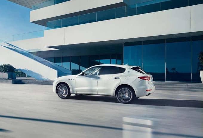 Avec le Levante, Maserati s'attaque au marché des SUV 5