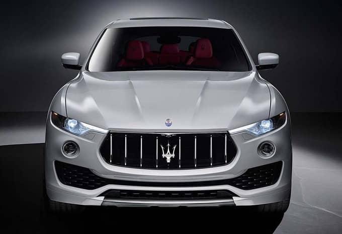 Avec le Levante, Maserati s'attaque au marché des SUV 6