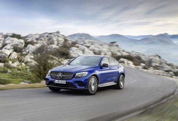 Avec son GLC Coupé, Mercedes s'attaque au X4 de BMW