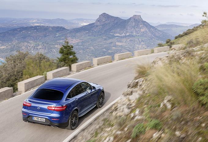 Avec son GLC Coupé, Mercedes s'attaque au X4 de BMW 2