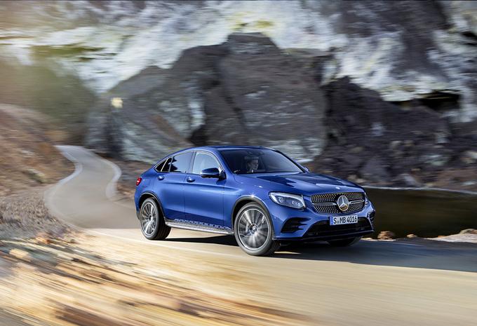 Avec son GLC Coupé, Mercedes s'attaque au X4 de BMW 5