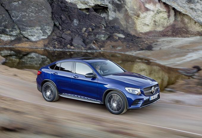 Avec son GLC Coupé, Mercedes s'attaque au X4 de BMW 6