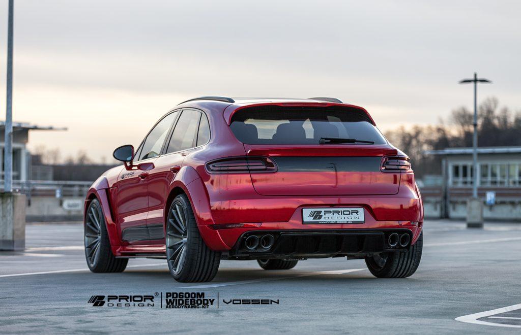 Grâce à Prior Design, le Porsche Macan a droit à un look d'enfer ! 2