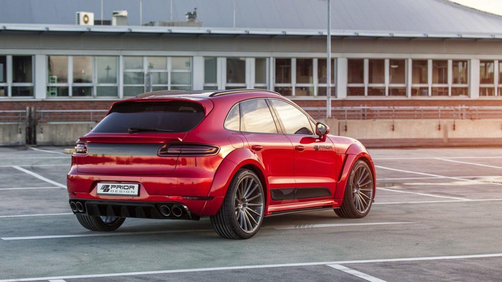 Grâce à Prior Design, le Porsche Macan a droit à un look d'enfer ! 4