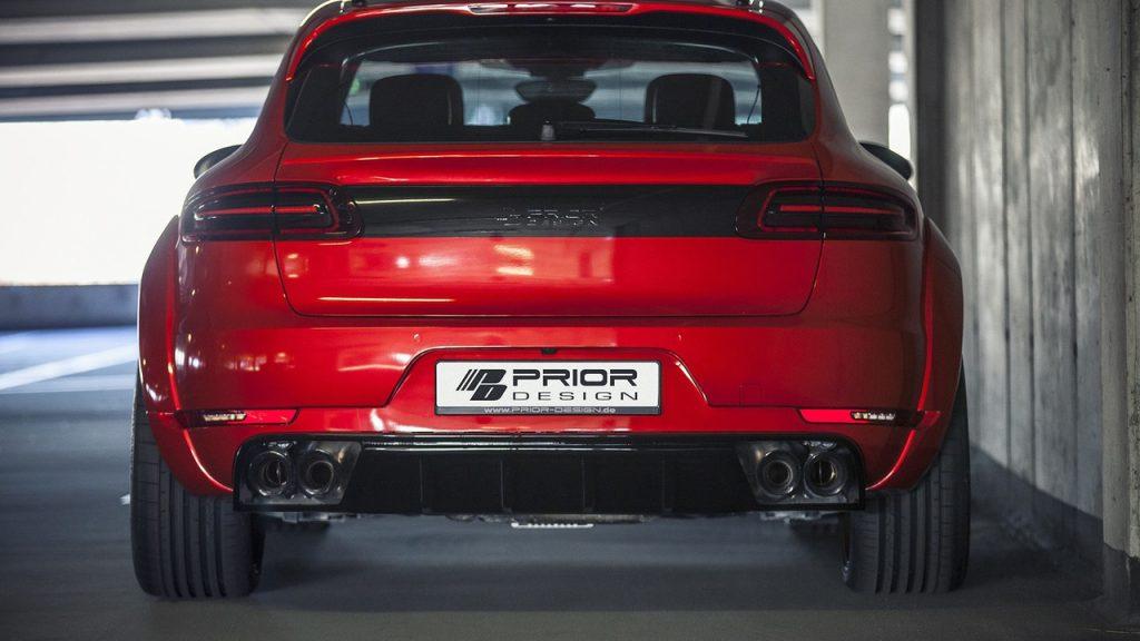 Grâce à Prior Design, le Porsche Macan a droit à un look d'enfer ! 7