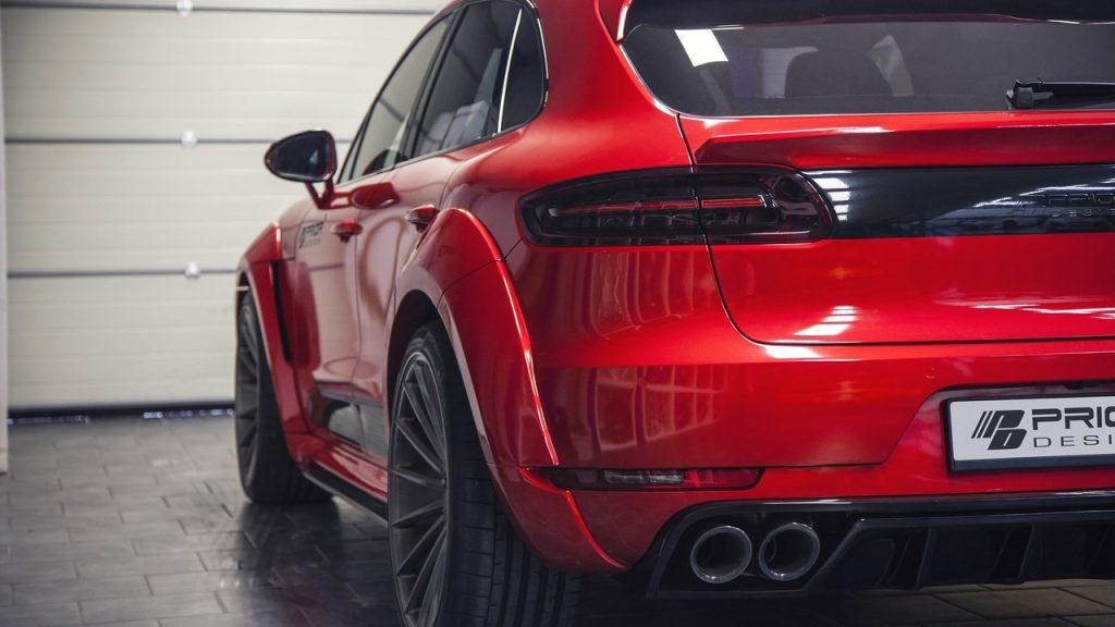 Grâce à Prior Design, le Porsche Macan a droit à un look d'enfer ! 10