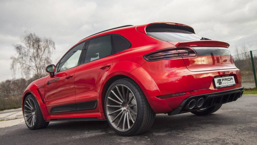 Grâce à Prior Design, le Porsche Macan a droit à un look d'enfer ! 12
