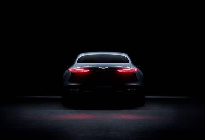 Hyundai : une Genesis New York Concept pour s'attaquer au marché des berlines de luxe hybride 4