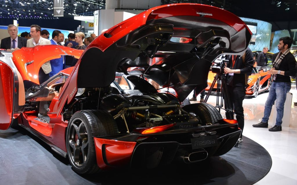 La décoiffante Regera de Koenigsegg se dévoile à Genève 2