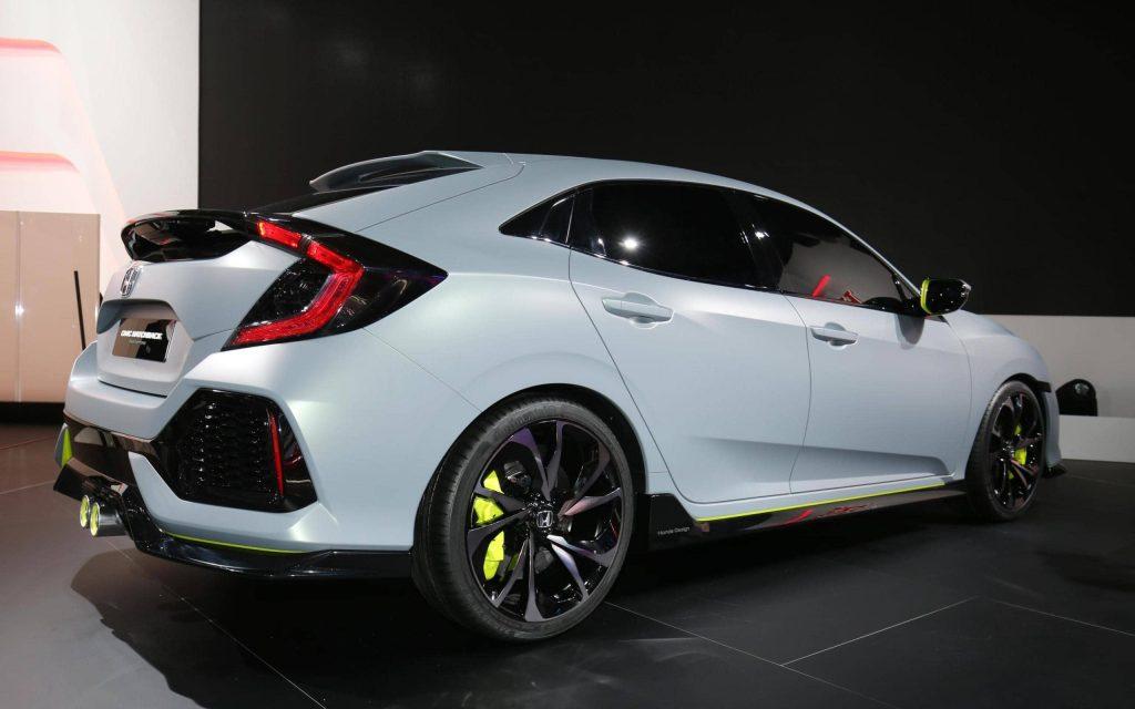 La Honda Civic Hatchback revient… sous la forme d'un concept 2