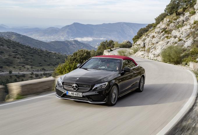 La Mercedes-AMG C 43 s'est dévoilée en couple, un coupé et un cabriolet 6