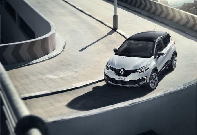 Le Captur de Renault devient le Kaptur pour la Russie 1